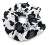 S-I3.2 H305-021 Velvet Scrunchie Animal Print