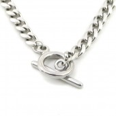 A-D23.2 N010-040S S. Steel Chain Necklace 40cm