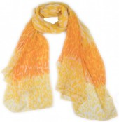 X-N8.2 SCARF507-009C Scarf Animal Print 180x90cm Yellow