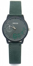 C-C4.5 K-1676 Quartz Watch with PU Strap 35mm Green