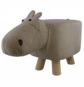 Z-B3.1 STOOL506-001 PU Stool Hippo