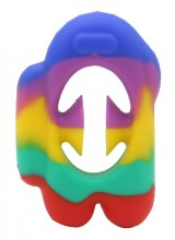 T-E6.2 T2130-001C Pop it Snapper Rainbow