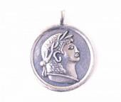 P565-031 silver 4cm