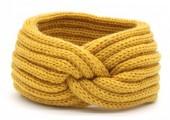 T-F2.1 H401-001J Knitted Headband Yellow