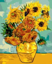 Z-B1.2 MS8289 Paint By Number Set Flowers 50x40cm
