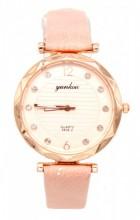 B-F7.3 W203-007 Quartz Watch with Pu Strap 30mm Pink
