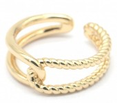 E-B3.1  R2019-002S Metal Ring Adjustable Gold