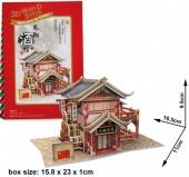 G-F26.1 W3131H 3D Puzzle Longxiang Tavern China - 29pcs