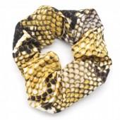 S-C5.1 H305-011 Scrunchie Snake Yellow