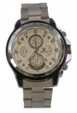 E-A17.1 Quartz Watch Metal 40mm Silver