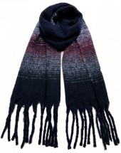 K-B7.1 S108-001 Thick Scarf with Fringes 50x180cm