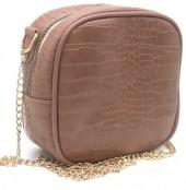 Y-C1.5 BAG535-001B Crossbody Bag Croco 18x18x8.5cm Pink